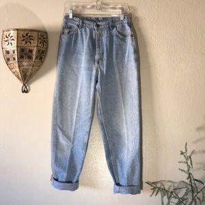 Vintage Jeans - 👖VTG LEE distressed hi rise mom jeans